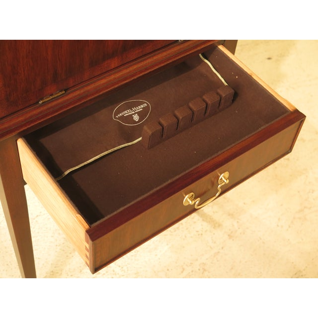 Henkel Harris Inlaid Mahogany Model Silver Chest - Image 9 of 11