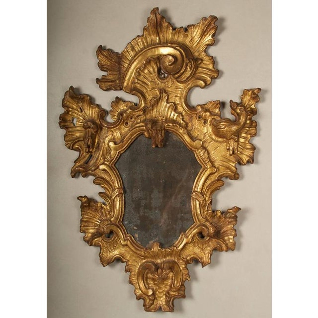 18th Century Rococo Giltwood Mirrors - A Pair - Image 5 of 9