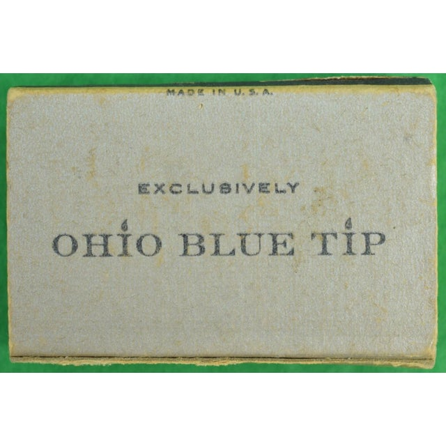 1955 Ohio Blue Tip Polo Matchbooks - A Pair - Image 3 of 4