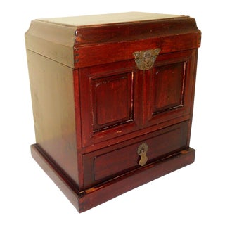 19th Century Chinese Ming Official Stationery Chest For Sale