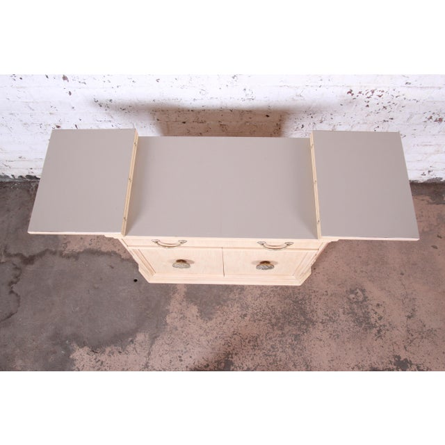 Bernhardt Mediterranean Style Maple Buffet Bar Server For Sale In South Bend - Image 6 of 13