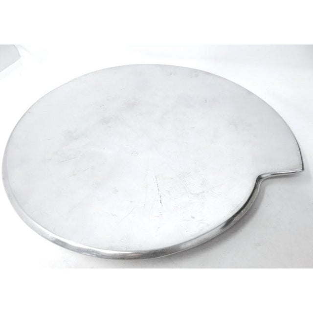 Smith Celetano Nambe 632 Spiral Tray Platter For Sale - Image 11 of 11