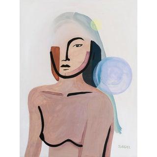 "Contemporary Fine Art Print, ""Aiko"", by Angela Seear - 9""x12"" For Sale"