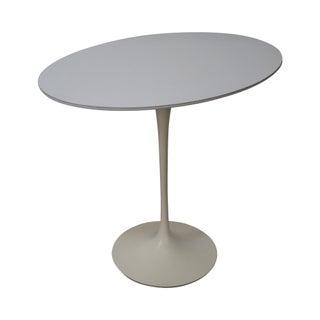 Knoll Early Eero Saarinen Oval Tulip Side Table For Sale