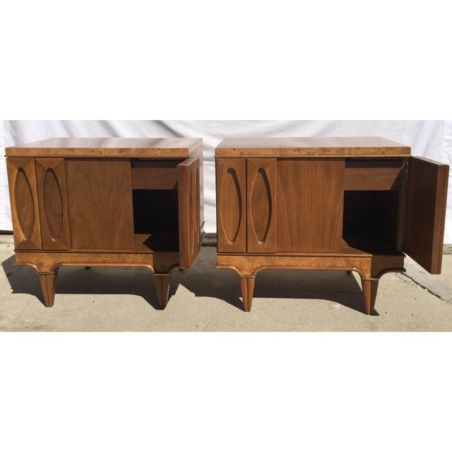 American Martinsville Mid-Century Side Tables Pair - Image 3 of 11