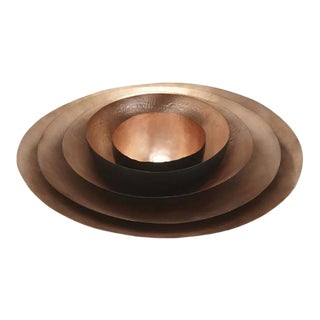 Tom Dixon Form Copper Bowl Set - Set of 5 For Sale