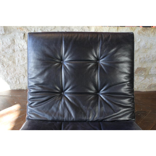 Black Osvaldo Borsani Chaise Lounge For Sale - Image 8 of 11
