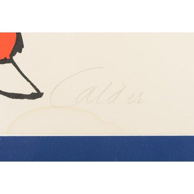 """Circus Bareback Rider"" Framed Alexander Calder Lithograph For Sale - Image 9 of 10"