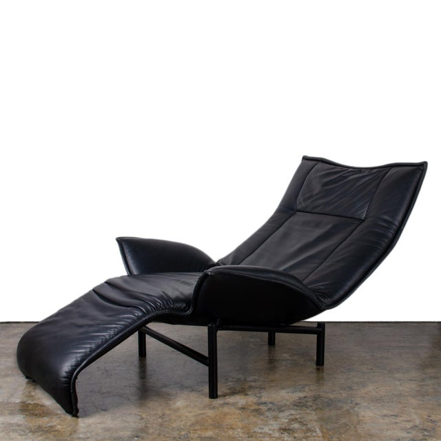 1980s Vintage Vico Magistretti Veranda Lounge Chair for Cassina For Sale - Image 10 of 12