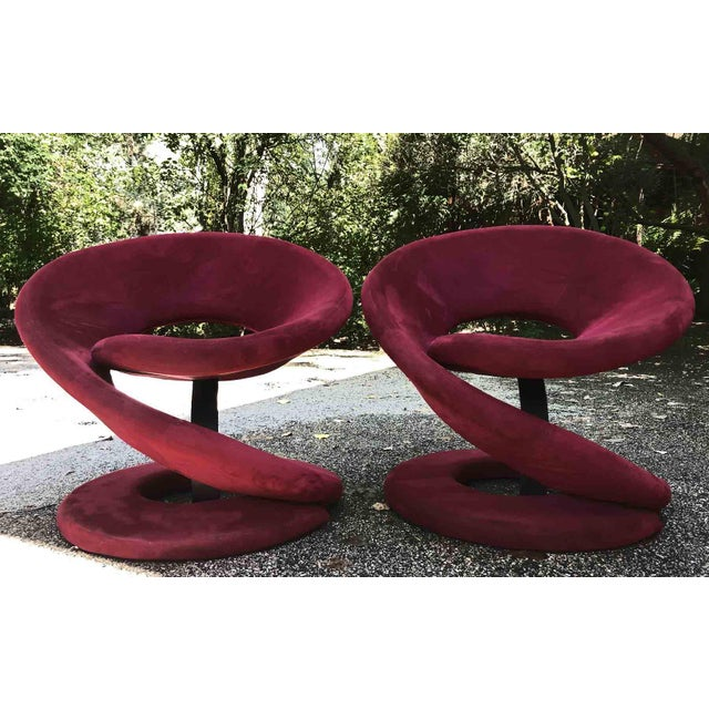 1980s Vintage Jaymar Spiral Chairs- a Pair For Sale In Chicago - Image 6 of 10