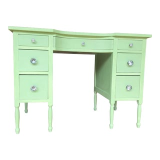 1960's Painted Mid-Century Desk For Sale