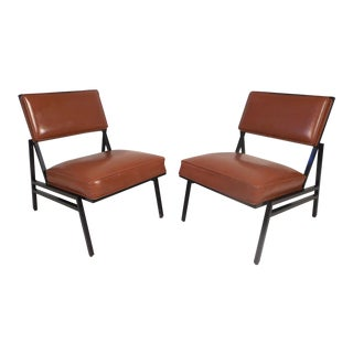 Midcentury Lounge Chairs by Steelcase, a Pair For Sale