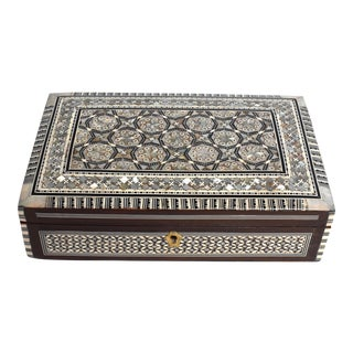 Mother of Pearl Jewelry Box For Sale