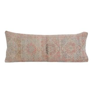 Extra Long Boho Woven Bedding Rug Pillow Cover 14'' X 34'' For Sale