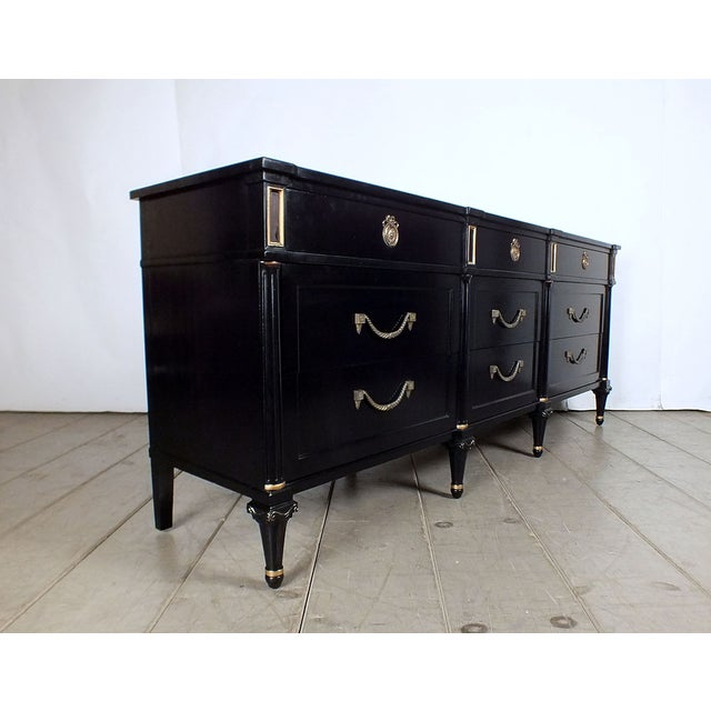 1960s Vintage Hollywood Regency Credenza/Server - Image 6 of 10