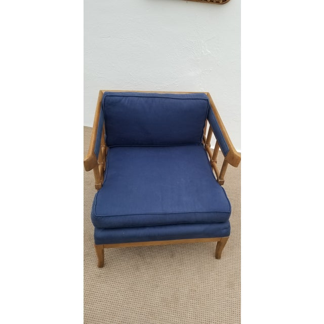 1970s Mid-Century Modern Barrel Back Club Lounge Chair For Sale In Miami - Image 6 of 12