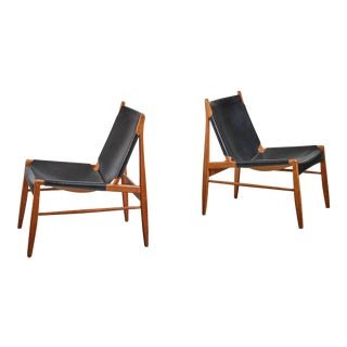Pair of Franz Xaver Lutz Hunting Chairs, Germany For Sale
