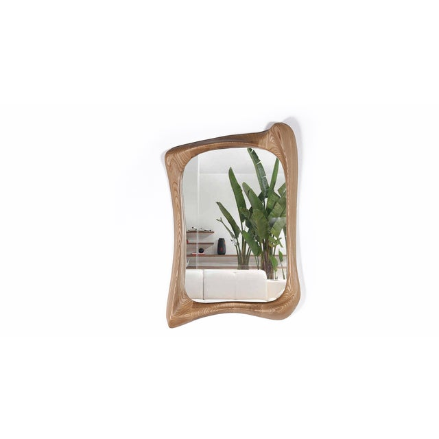 Narcissus Sculptural Art Mirror Frame by Amorph - Image 3 of 4