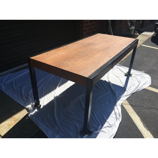 Harvey Probber Oak Desk For Sale - Image 12 of 13
