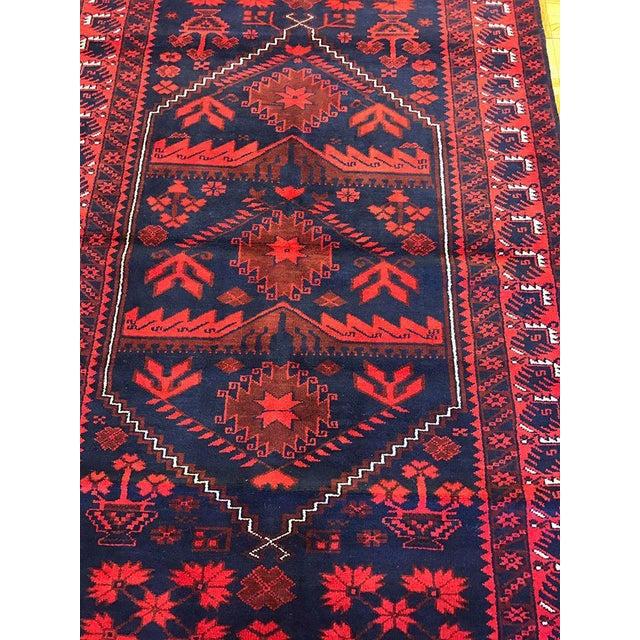 Antique Anatolian Bergama Wool Rug - 4'x6' - Image 4 of 6