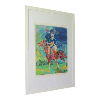 Artist LeRoy Neiman Prince Charles at Winsor Framed Art For Sale