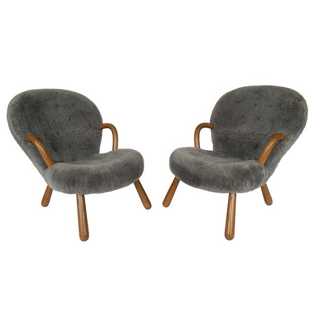 "Designer: Philip Arctander Denmark - Circa 2016 Dimensions: 33"" H x 27"" W x 35"" D Seat 15"" H Condition: Very good..."