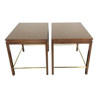 Edward Wormley Dunbar Side Tables - a Pair For Sale