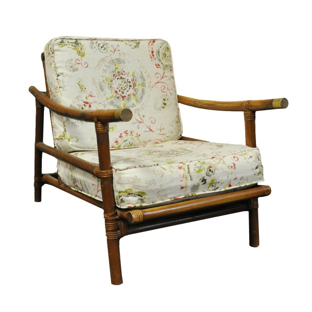 Ficks Reed Style Lounge Chair - Image 1 of 5