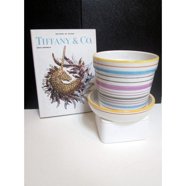 Tiffany & Co Planter Pot and Saucer - Image 3 of 6