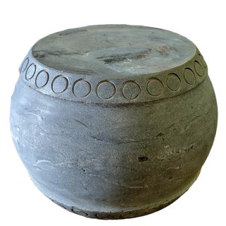 Round Stone Stool For Sale