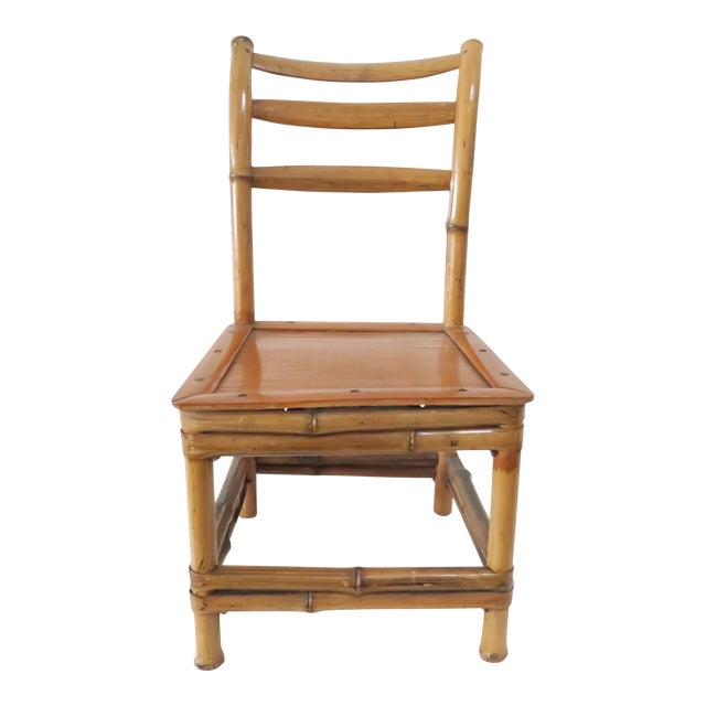 Child's Bamboo Chair - Image 1 of 7