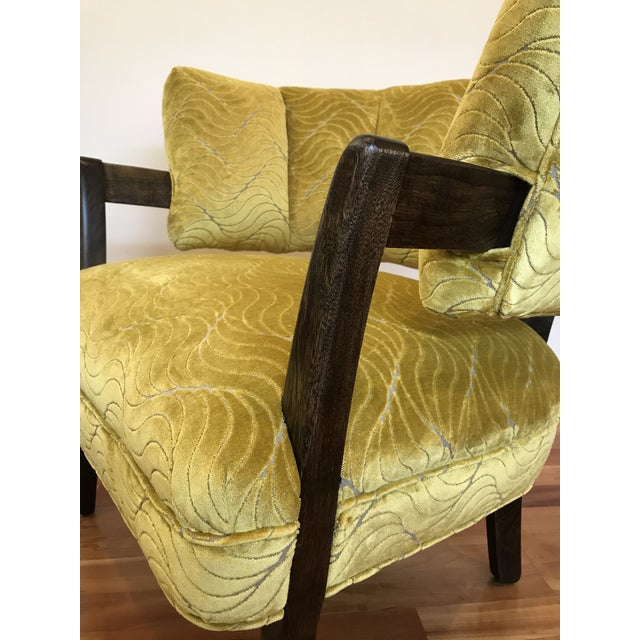 1940s Vintage Billy Haines Era Channel Back Chair For Sale - Image 6 of 12