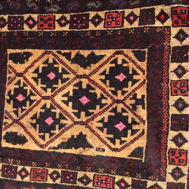 Baluchi Persian Rug - 1′7″ × 2′ - Image 4 of 8