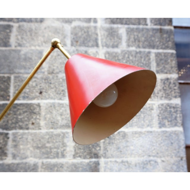 Angelo Lelli for Arredoluce Triennale Floor Lamp For Sale - Image 5 of 11