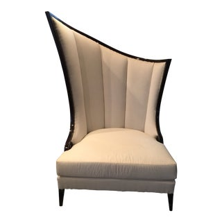 Christopher Guy Wingback Chair For Sale