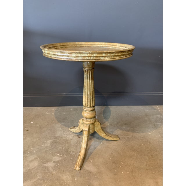 2010s Rustic Side Table For Sale - Image 5 of 5