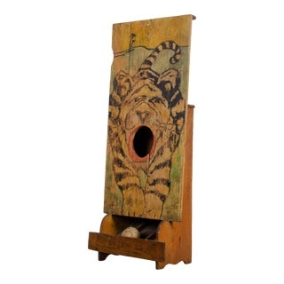 1890s Passe Boules Carnival Game Board For Sale