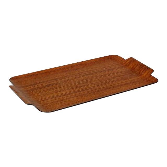 Modern Teak Wood Tray For Sale