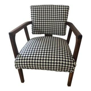 Vintage Mid Century Teak Armchair For Sale