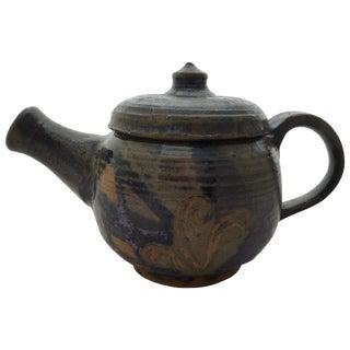 Mid-Century Studio Pottery Teapot For Sale