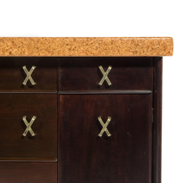 CORK-TOP SIDEBOARD BY PAUL FRANKL FOR JOHNSON FURNITURE, CIRCA 1950S - Image 9 of 11