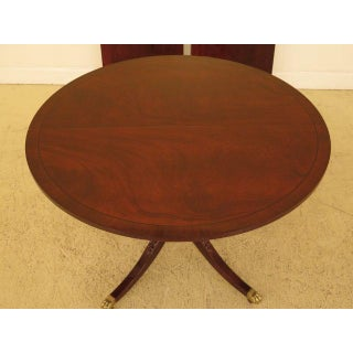 Traditional Baker Round Mahogany Dining Room Extension Table Preview