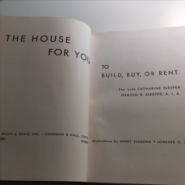 """""""The House for You to Build, Buy, or Rent"""", 1957 - Image 4 of 11"""