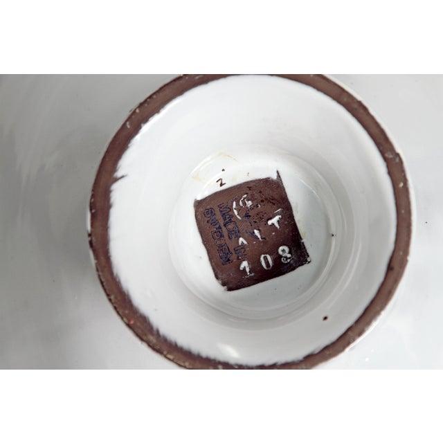 Midcentury Bowl by Upsala-Ekeby - Image 6 of 11