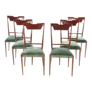 Final Markdown >Italian Mid Century Dining Chairs - Set of 6