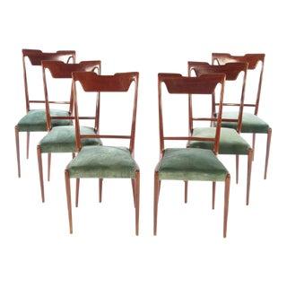 Italian Mid Century Dining Chairs - Set of 6