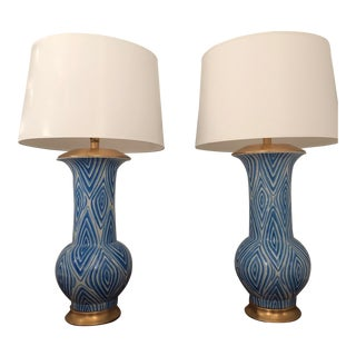 Bungalow 5 Iconic Twig Table Lamps - A Pair For Sale