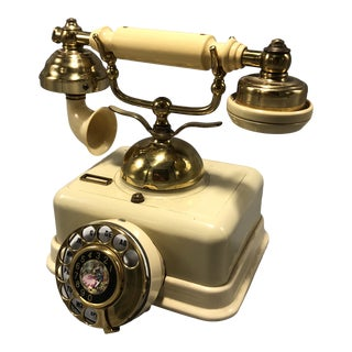 Mid-Century Electric Dial Phone 1950s Circa For Sale