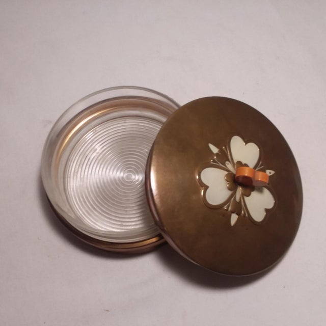 Art Deco Chase Vanity Powder Jar For Sale In Los Angeles - Image 6 of 11
