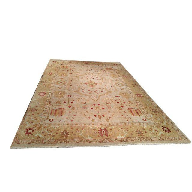Traditional Hand Made Knotted Rug - 12x18 - Image 2 of 4